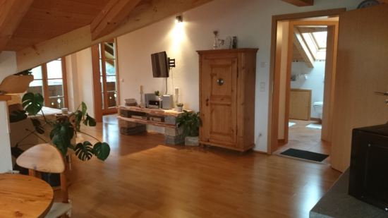 Wohnzimmerbereich mit gemütlichem Ambiente